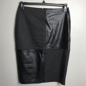 Ivanka trump leather skirt size 4